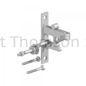 0390001 SELF LOCKING GATE CATCH