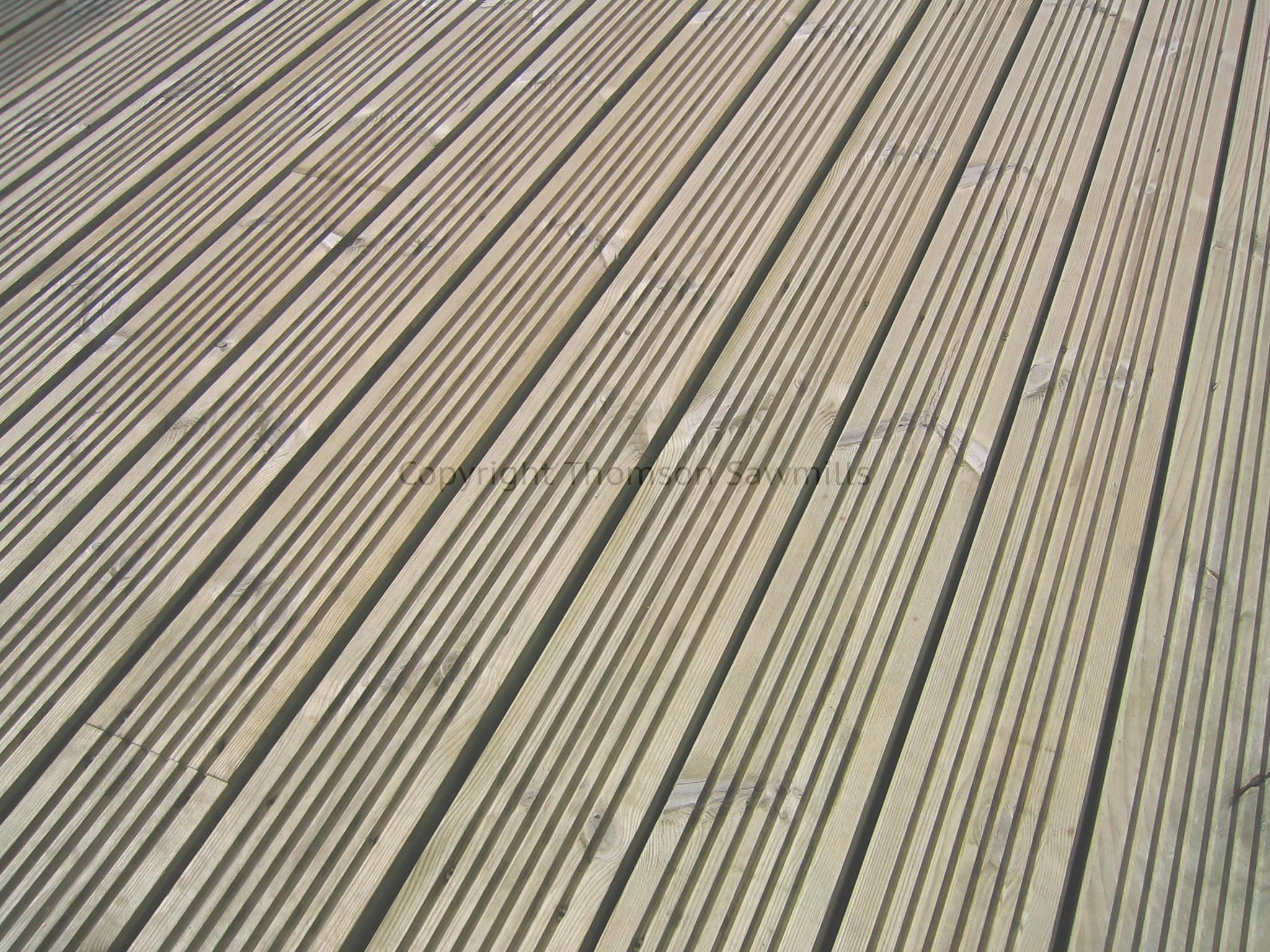 Timber Decking 120 X 28 Thomson Sawmills