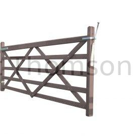 Somerfield Five Bar Gates (Brown) ***BACKORDER***