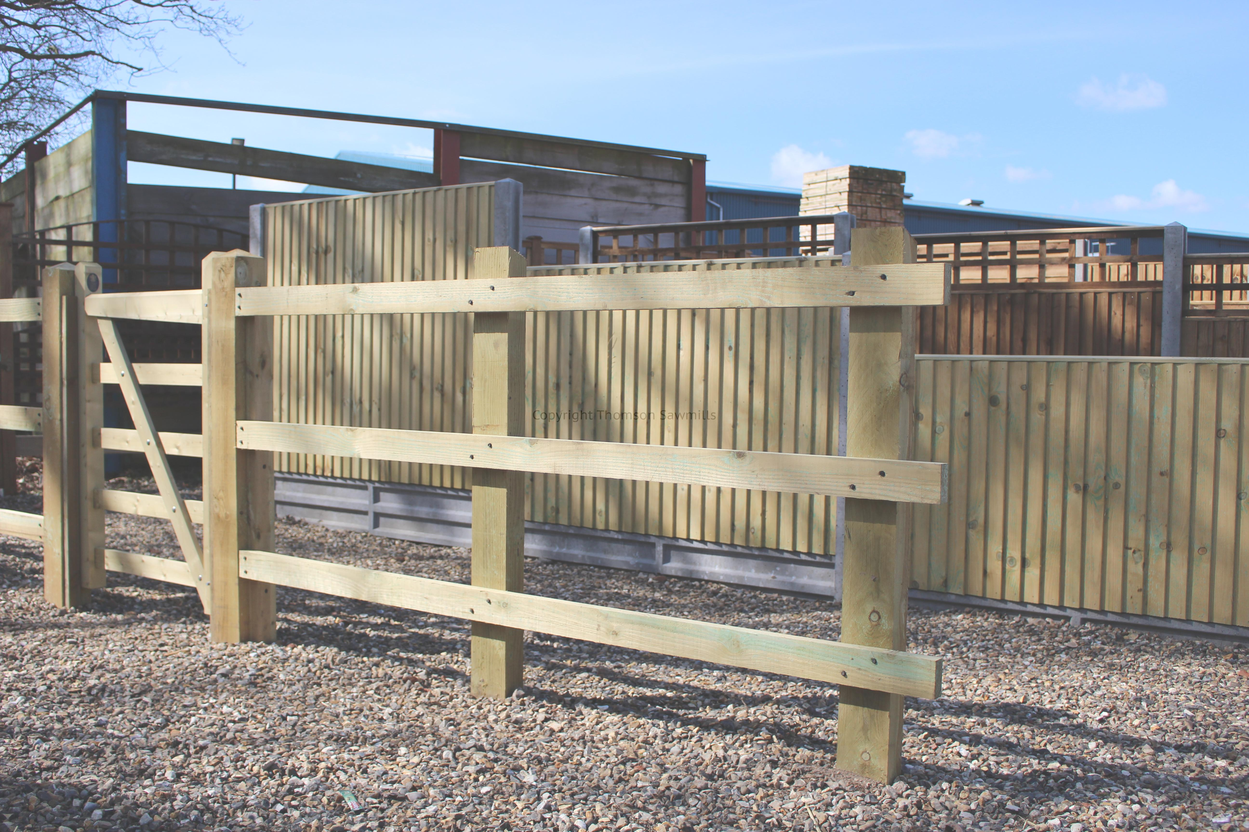 Picture of: Post And Rail Paddock Fencing Thomson Sawmills