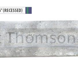 Concrete Gravel Boards (Recessed) ***BACKORDER***