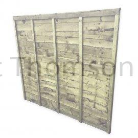 Superlap Fence Panels (Green)